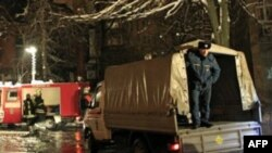 Взрыв газа в подмосковном поселке «Горки-25»