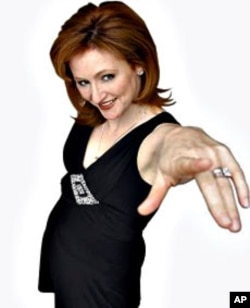 British American comic Sherry Davey was unsure how she'd fare at the Festival but found the audiences loved her style of humor