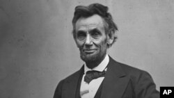 FILE - President Abraham Lincoln