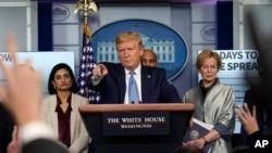 کنفرانس خبری روز دوشنبه پرزیدنت ترامپ