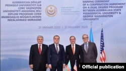 Azərbaycan Pedaqoji Universiteti və Corc Vaşinqton Universiteti saziş imzalayıb