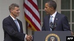 Алан Крюгер и Барак Обама