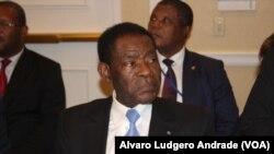 Teodoro Obiand na reunião da CPLP em Nova Iorque