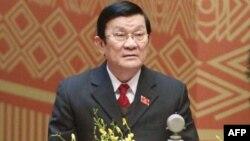 Tân Chủ tịch nước Việt Nam Trương Tấn Sang
