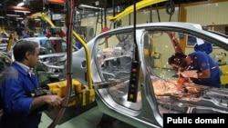 تولید پژو در کارخانه ایران خودرو
