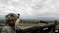Leşkerekî Amerîkî li Afganistanê