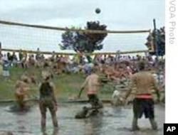 泥浆排球赛