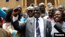 ທ່ານ Raila Odinga ຜູ້ນໍາພັກຝ່າຍຄ້ານຂອງເຄນຢາ