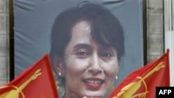 Министр иностранных дел Франции встретился с лидером бирманской оппозиции