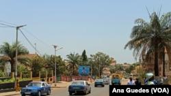 A street in Bissau