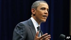 奥巴马1月13日在亚利桑那州发表谈话