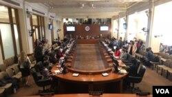 Konsèy Pèmanan l'OEA an sesyon. (Foto: Jorge Agobian).