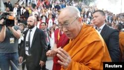 西藏精神领袖达赖喇嘛2018年9月21日访问瑞士。
