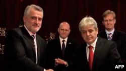 Partitë shqiptare në Maqedoni nënshkruajnë marrëveshje për zgjedhje të lira