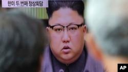 (资料照) 朝鲜领导人金正恩