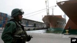 Foto de archivo de Puerto Cabello, uno de los puertos a cargo del alto mando militar en Venezuela.