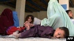 Para pengungsi Afghanistan di kamp PBB di Quetta, Pakistan (foto: dok).