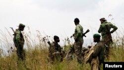 Elementos do exército da República Democrática do Congo