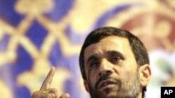 마흐무드 아마디네자드 이란 대통령 (자료사진)