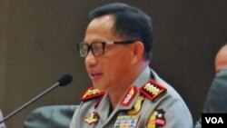Kapolri Jenderal Tito Karnavian (VOA/Fathiyah Wardah)