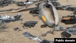 فرمانده هوا فضای سپاه میگوید که بیشتر بدنه پهپاد اسرائیلی نابود شده است