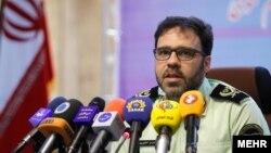 سعید منتظرالمهدی سخنگوی پلیس ایران