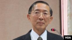 台灣外交部長 林永樂(美國之音張永泰拍攝)