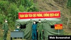 Một chốt biên phòng ở Tịnh Tường, Lào Cai. Photo QĐND