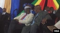 Morgan Tsvangirai (MDC-T) loMnu. Dumiso Dabengwa (Zapu)