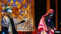 Leyli və Məcnun kukla operası -Tehran