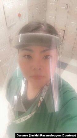Darunee (Jackie) Rasamelougon is a nurse technician at Reston Hospital Center in Virginia. (Courtesy Darunee (Jackie) Rasamelougon)