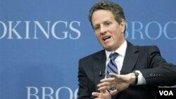 Menteri Keuangan Amerika, Timothy Geithner.