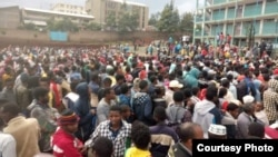 rescued people from Burayu, Ethiopia