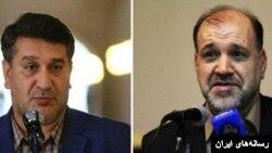 فریدون احمدی (راست) و محمد عزیزی (چپ)