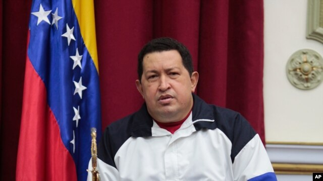 Shugaban kasar Venezuela Hugo Chavez wanda ke fama da cutar sankarar da yake jinya a kasar Cuba