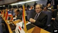 Заместитель министра иностранных дел Сирии Фейсал Мекдад на саммите Движения неприсоединения. Тегеран, Иран