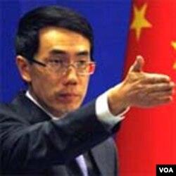 Jurubicara Kemenlu Tiongkok Liu Weimin menolak komentar Menlu AS Hillary Clinton.