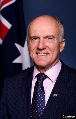 澳大利亞聯邦參議員埃里克•阿貝茲(照片提供: 埃里克•阿貝茲)