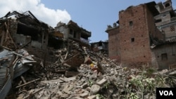 Quake-Stricken Nepal