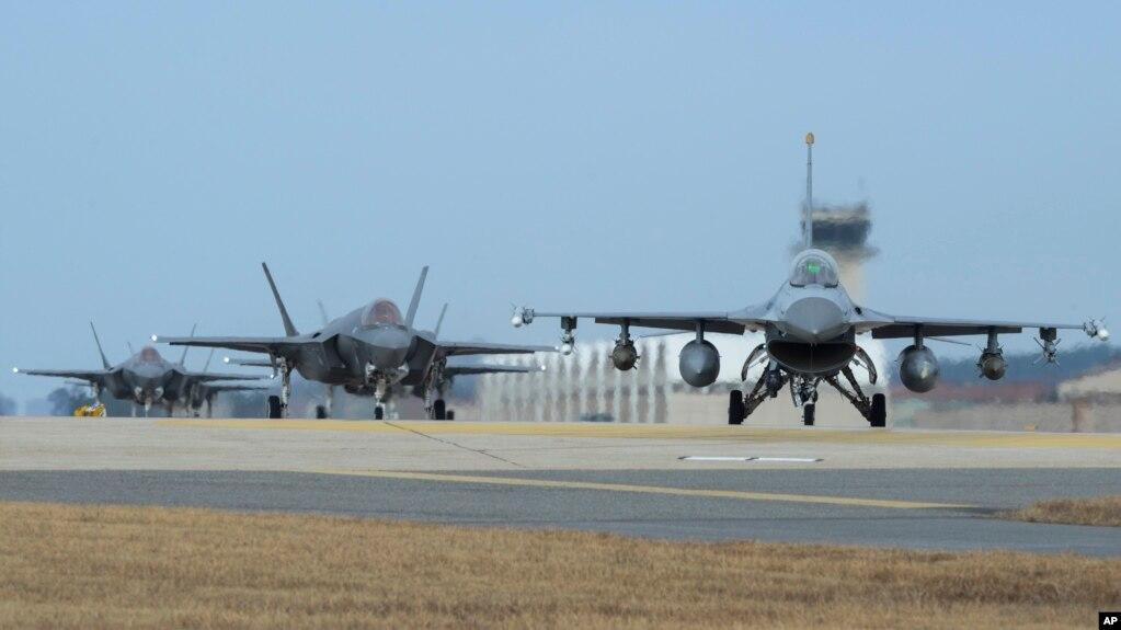 Máy bay tàng hình F-35A. Nhật Bản cho biết ý định gắn tên lửa phối hợp tấn công JSM vào máy bay F-35A của nước này.