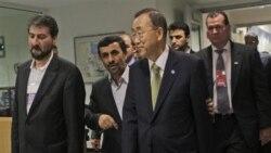 ديدار محمود احمدی نژاد و بان کی مون