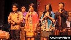 Elfa's Singers Tampil di Konser 'Pulau' di Washington, DC (Dok: Wirawan Pandji Ismudjatmiko)