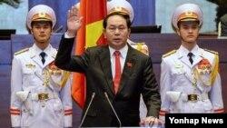 쩐 다이 꽝 신임 베트남 국가주석