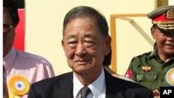 缅甸前大毒枭罗星汉(2007年5月25日档案照)