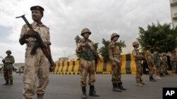 یمنی سکیورٹی اہلکار