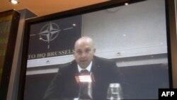 Видеоконференция Брюссель – Москва. Официальный представитель НАТО Джеймс Аппатурай
