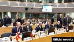 Prezident İlham Əliyev Brüsseldə