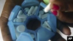 Medicamentos anti-retrovirais (Foto de Arquivo)