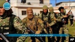 시리아 알누스라전선 소속 반군 (자료사진)