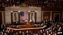 Prezident Obama Kongressga yillik hisobot bilan murojaat qilmoqda, 27-yanvar, 2010-yil.